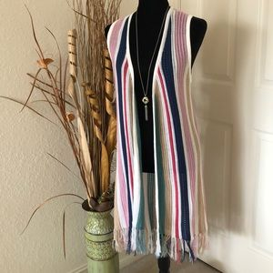 Absolutely Famous Duster Vest